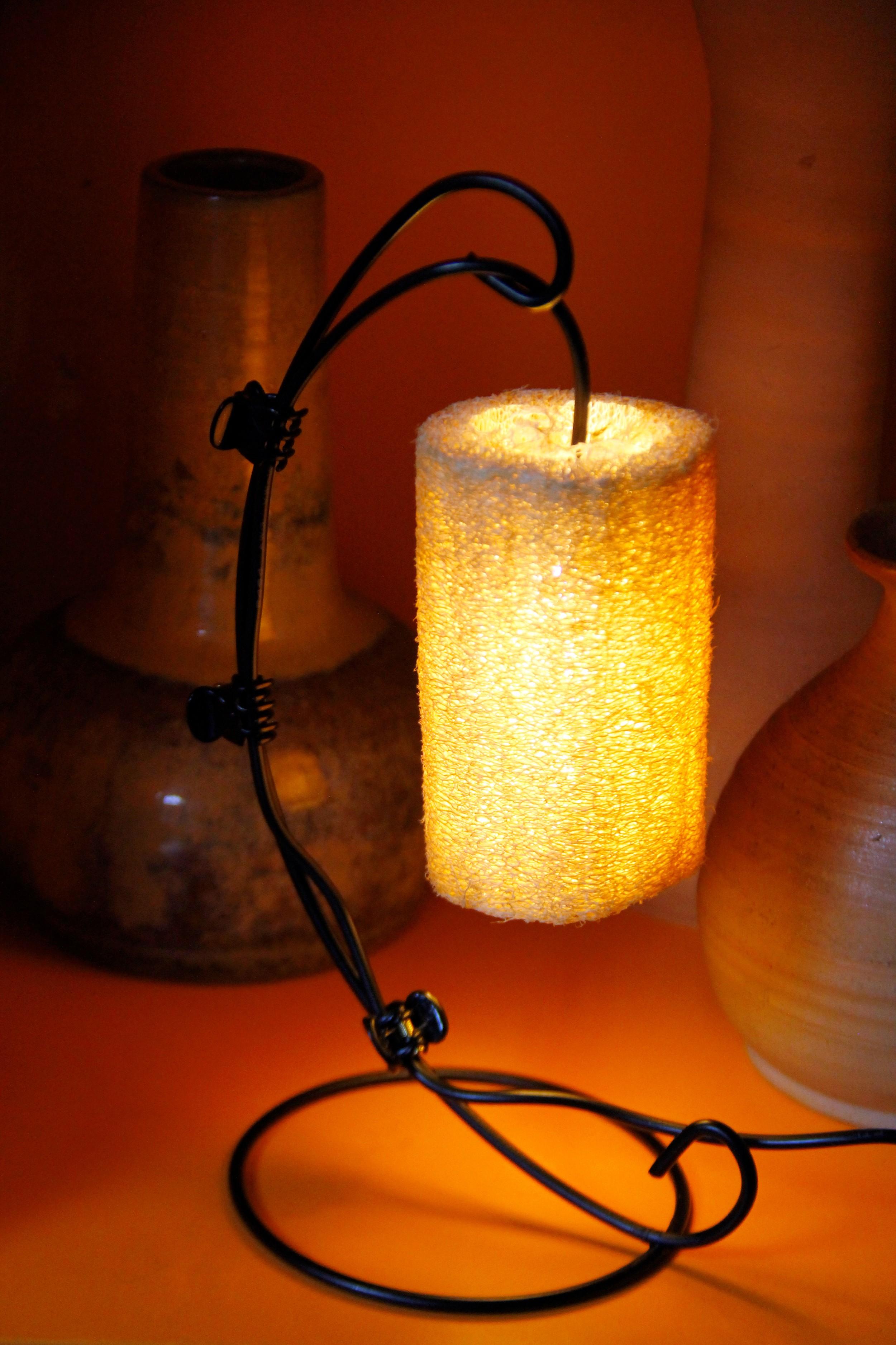 傢飾藝品-絲瓜燈