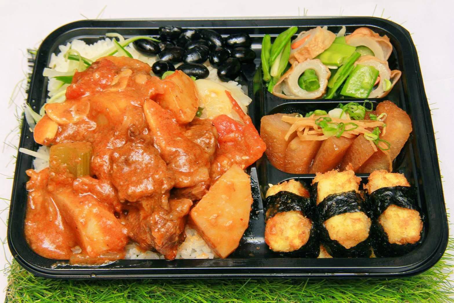 輕食餐盒-西式紅酒燉牛肉