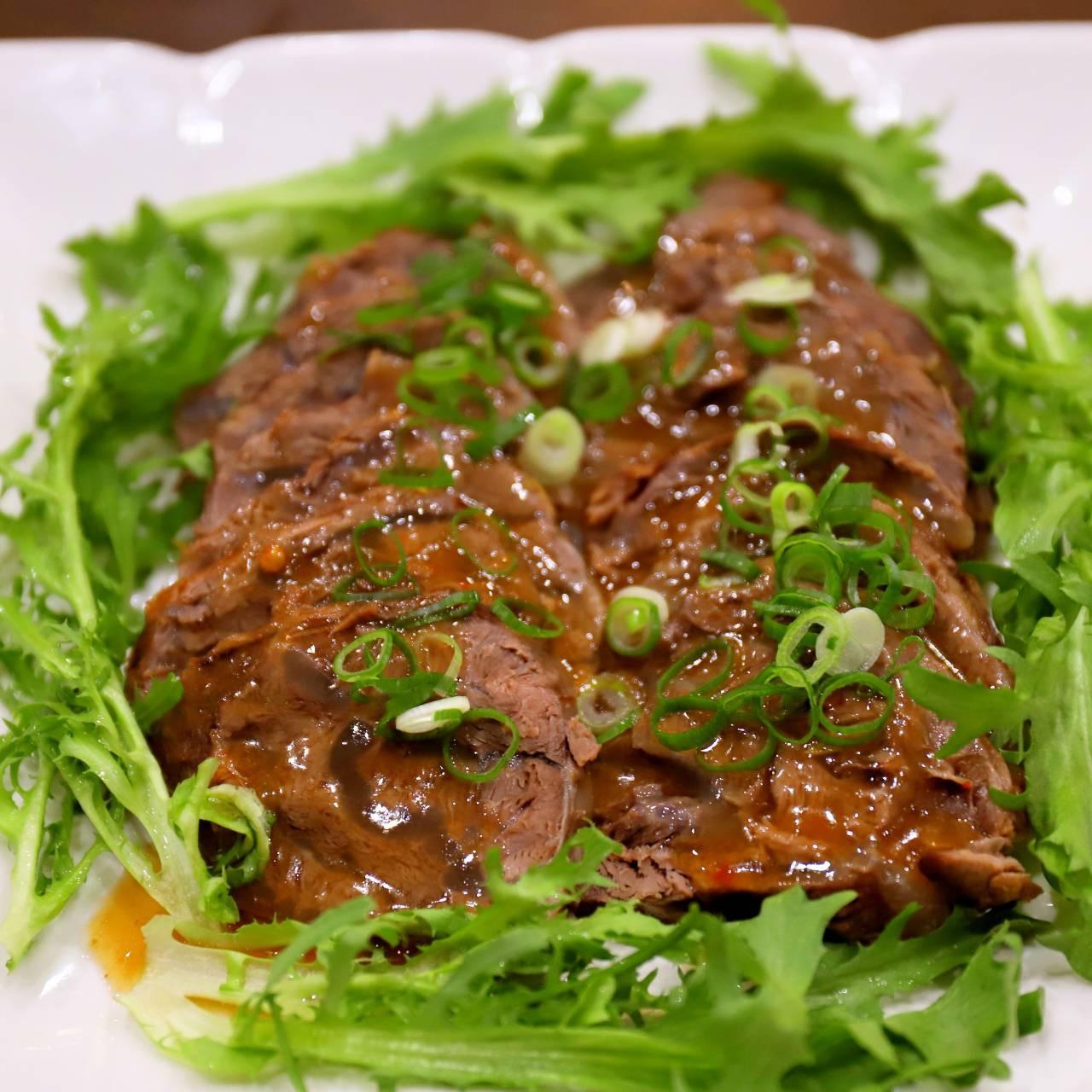 主廚私房菜:西湖醬牛肉