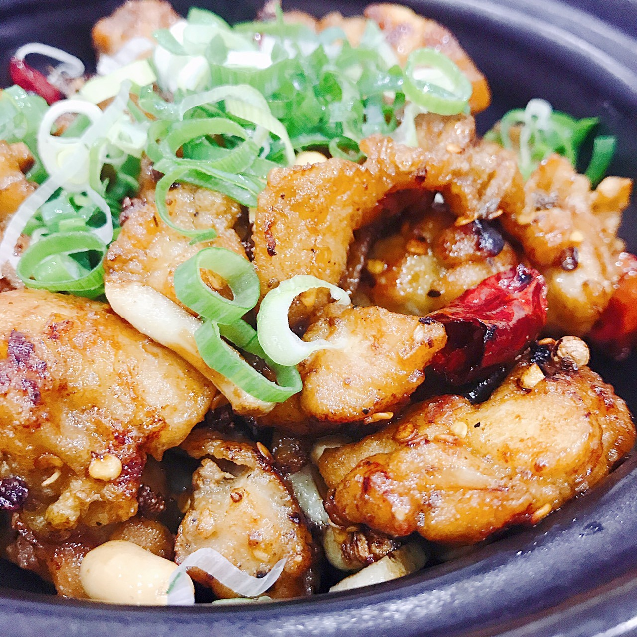 主廚私房菜:麻辣爆雞丁