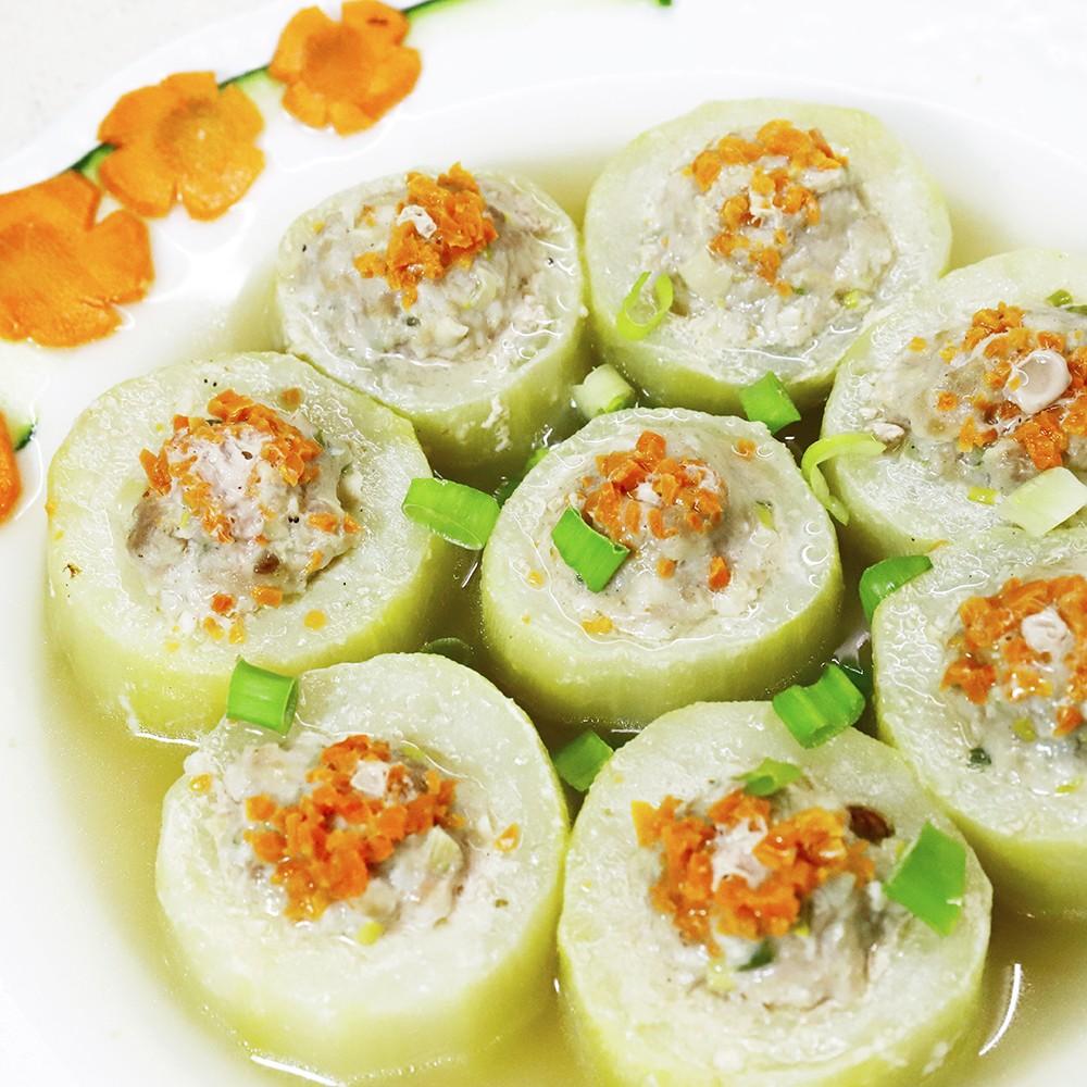 主廚私房菜:黃瓜封肉