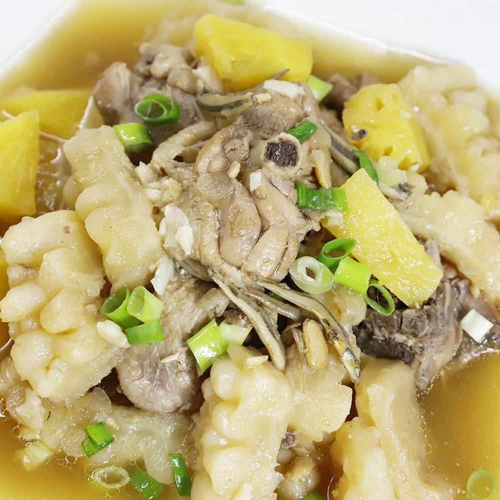 主廚私房菜:鳳梨苦瓜雞