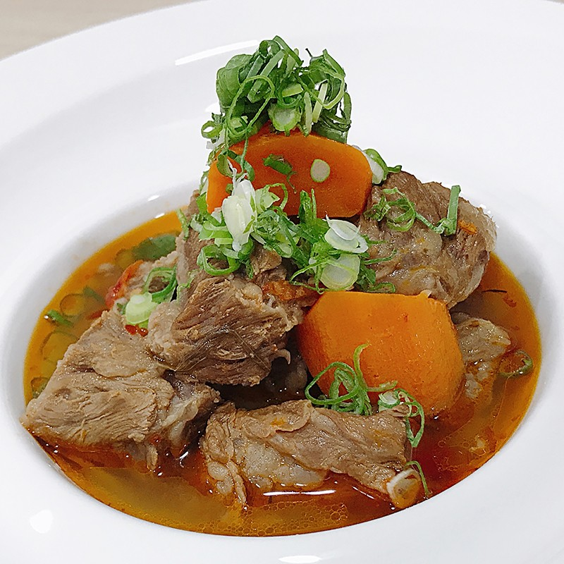 主廚私房菜:紅燒牛肉(2人份)