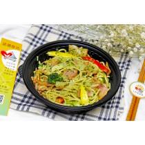輕食餐盒-青醬培根義大利麵