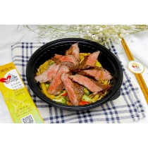 輕食餐盒-法式黑胡椒牛肉麵