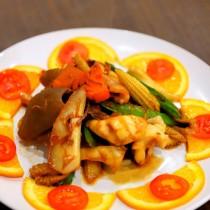 主廚私房菜:XO醬炒雙魷
