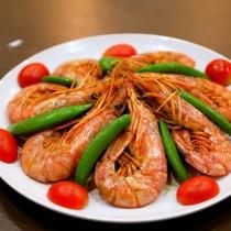 主廚私房菜:蒜味粉條虎蝦煲