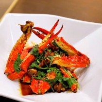 主廚私房菜:九層蒜香沙茶蟹