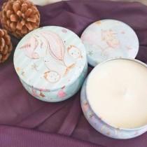 傢飾藝品-玫瑰精油香氛蠟燭
