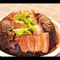 主廚私房菜:梅干控肉