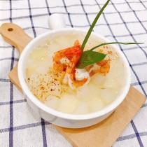 主廚私房菜:冬瓜鮮蝦芙蓉羹