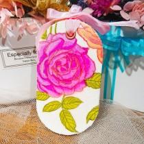 傢飾藝品-手工香氛石(長型)粉玫瑰