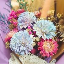 孟澧花坊-漸層乾燥花束