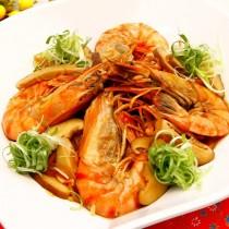 主廚私房菜:鮮蝦粉絲煲