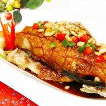 主廚私房菜:紅燒松子魚