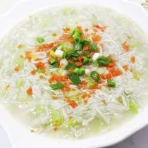 主廚私房菜:蝦皮金菇燴絲瓜
