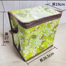 綠方型小餐袋