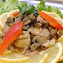 主廚私房菜:法式洋菇燉雞
